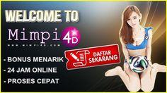 Situs Judi Online Terpercaya Se Indonesia || Mimpi4d || Agen Togel || Taruhan Bola || Bola 88 || Live Casino || Judi Bola || DAFTAR SEKARANG JUGA !!!