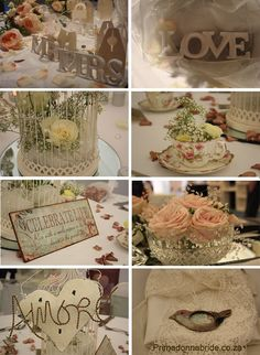 Another pretty vintage wedding theme :)