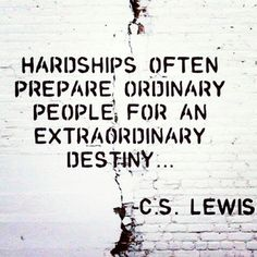 Be extraordinary!