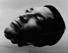 Scottie Pippen. Portrait by Nadav Kander. Reflection. I think Kander took this…