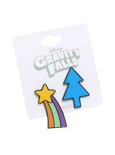 Gravity Falls Enamel Pin Set,