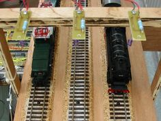 Wiring a model railroad part 4 : Infrared trains detection - Technical aspects of a model railroad