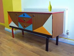 1970s Sideboard / Upcycled Mid Century by AnecdotesFolkestone
