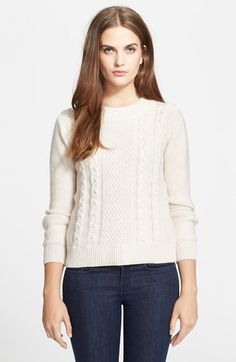 Free shipping and returns on Joie 'Greer' Cable Knit Merino Wool Sweater at Nordstrom.com. Columns of cable knitting ascend the front and back of this cozy sweater knit from pure merino wool yarns.