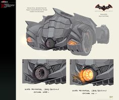 Conceptual artist Jonathan D. Kirtz has updated his website with Batmobile and Red Hood weaponry [...]