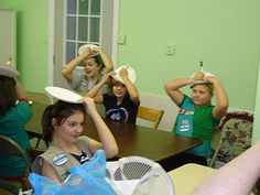 Girl Scout Christmas Party- games, service project, craft