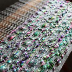 Gorgeous textured weaving