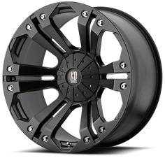 XD Series by KMC Wheels Monster Matte Black Wheel offset), Painted Rims And Tires, Wheels And Tires, Jeep Wrangler Wheels, Wrangler Jk, 4x4, Volkswagen, Vw T5, Convertible, Honda Ridgeline