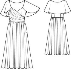 Draped Silk Cocktail Dress 11/2014 #106 – Sewing Patterns   BurdaStyle.com