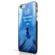The Lion King Movie Remember Who You Are Simba for Iphone and Samsung Galaxy Case (Iphone 6 Plus Black)
