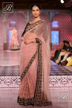 Niki Mahajan embroidered saree