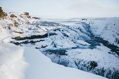 Road trip en Islande en hiver - Cercle d'or - Cascade Gullfoss