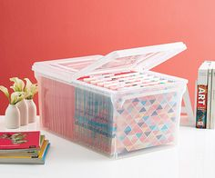 Tip | Archival Storage of Printed Materials | The Container Store