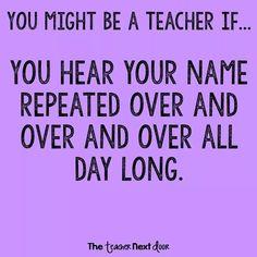 Best teacher quotes, teacher memes, teacher sayings, teacher humour, te Teacher Humour, Teacher Memes, Education Quotes For Teachers, Quotes For Students, Quotes For Kids, Teacher Sayings, Funny Teachers, Teaching Humor, Teacher Stuff