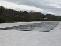 One of our commercial solar panel installs in North Georgia