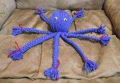 Yarn octopus- made these in Vacation Bible School. I always think of my friend John Robert when I see these because his turned out with 9 legs!