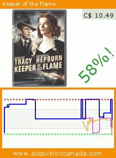 Keeper of the Flame (DVD). Drop 58%! Current price C$ 10.49, the previous price was C$ 24.95. By George Cukor, Spencer Tracy, Katharine Hepburn, Richard Whorf, Margaret Wycherly, Forrest Tucker. http://www.adquisitiocanada.com/warner/keeper-flame