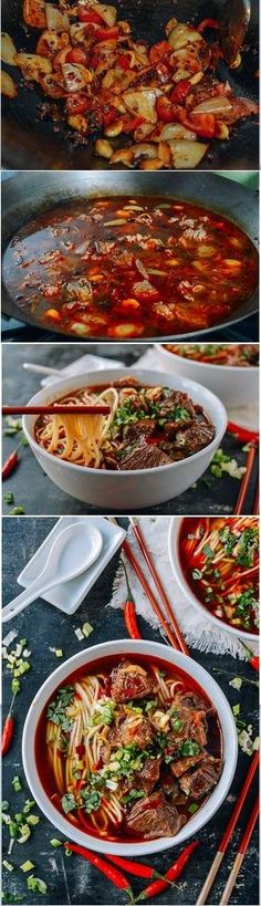 Spicy Beef Noodle Soup Recipe by the Woks of Life