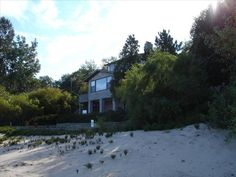 Long Beach Vacation Rental - VRBO 301988 - 3 BR IN House, Beachfront Paradise on Shores of Lake Michigan Think it is on stop 16 - small but on the beach I think