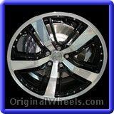 Chevrolet Camaro 2014 Wheels & Rims Hollander #5468 #Chevrolet #Camaro #ChevroletCamaro #2014 #Wheels #Rims #Stock #Factory #Original #OEM #OE #Steel #Alloy #Used