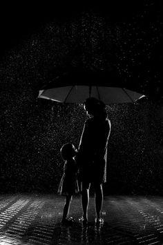 telling secrets in the rain . . .