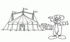 ausmalbilder zirkus – Ausmalbilder für kinder