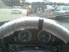 Funny Pictures - bubble wrap would totally soothe me! keep calm