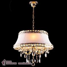 Подвесной светильник Eurosvet 3271/5 золото/белый
