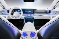 Mercedes Benz Concept IAA (Interigent Aerodynamic Automobile): Photo Via Response.jp (http://response.jp/article/2015/09/15/260085.html)