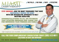 Miami Laser Therapy provides the most sophisticated Laser Therapy technology and methods to get results fast and safe.
