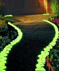 Image result for use-glow-dark-stones-bulk-transform-yard
