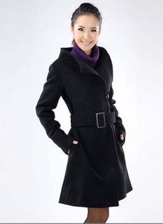 Woolen Cashmere Coat