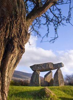 Ballykeel Dolmen, Armagh Northern Ireland                                                                                                                                                     More