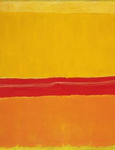 Mark Rothko, larger than the photo that represents it, in painting thats so important difficult to accomplish. A master.