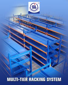 Multi Tier Racking System http://www.metalstoragesystems.com/multi-tier-tracking/
