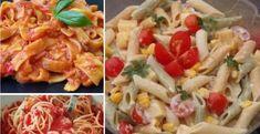 Pasta Salad, Potato Salad, Potatoes, Meat, Chicken, Ethnic Recipes, Beef, Potato, Cold Noodle Salads