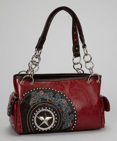 Take a look at this Red Star Tote by Montana West on #zulily today!