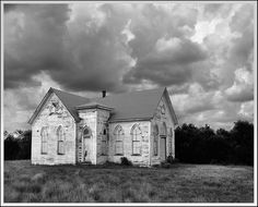 Old West Texas Church - looks just like the one I went to when staying with my Uncle Bill & Aunt Bessie on the ranch.