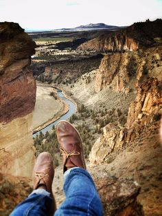 .find a different perspective on something you have been seeing for a long time.  Like your feet.