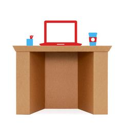 Intellidesk  #cardboard #furniturerevolution