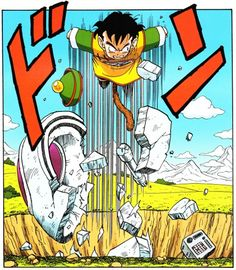 Dragon Ball Z - Gohan unleashed by Akira Toriyama Dragon Ball Gt, Anime Echii, Anime Comics, Anime Art, Photo Dragon, Gohan, Manga Dragon, Z Arts, Fan Art