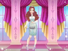 This is a princess I made. The Glimmer princess of the majestic