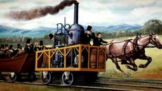 In 1869 the Union Pacific and Central Pacific railroads converged at Promontory Summit, Utah, completing the Transcontinental Railroad.