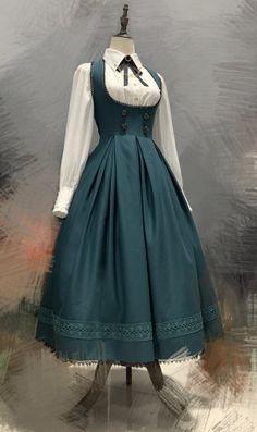 Just Style, Suit Fabric, Dressed To Kill, Lolita Dress, Kawaii Fashion, Pretty Dresses, Fashion Outfits, Blouse, Gothic Lolita