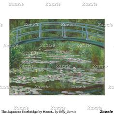The Japanese Footbridge by Monet (1899) Poster