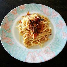 Pasta Pobrecita Spaghetti, Pasta, Cooking, Ethnic Recipes, Food, Kitchen, Essen, Meals, Yemek