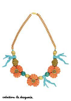 Un collier qui sent bon l'été !! #ladroguerie #collier #bijoux