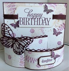Linda's Craft Room: Butterfly basics bendi birthday card
