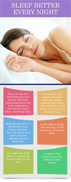 Sleep Better Every Night Tidbit : Health Products For You