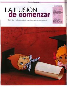 Revistas de Foamy gratis: revista para jardin de niños manualidades